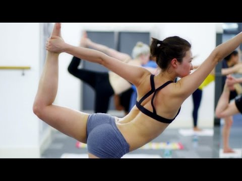 Erotic sexy yoga videos with Steamy Hot Yoga | Yoga poses!  | Workout by American Model – Part 3