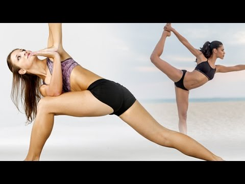 Erotic sexy yoga videos with Steamy Hot Yoga | Yoga poses!  |  Sensuous BIKINI Girls Doing Yoga