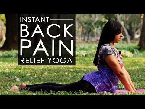 How To Yoga Stretches To Get Relief From Lower Back Pain & Sciatica
