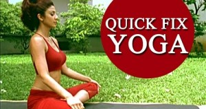 Shilpa Shetty's 'Quick Fix Yoga' – 15 min Full Body Workout