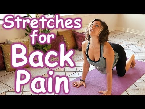 Stretches for Back Pain Relief, How to Stretch Routine, Beginners Home Yoga