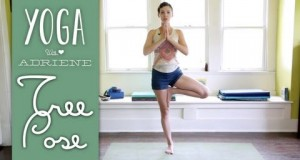 Tree Pose – Vrksasana – Yoga With Adriene