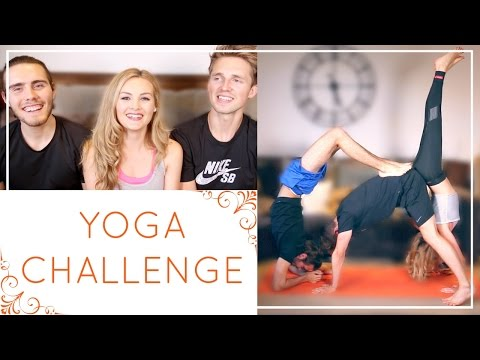 Yoga Challenge with Alfie and Marcus
