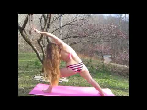 Yoga challenge, girls show yoga postures, yoga girls for fitness
